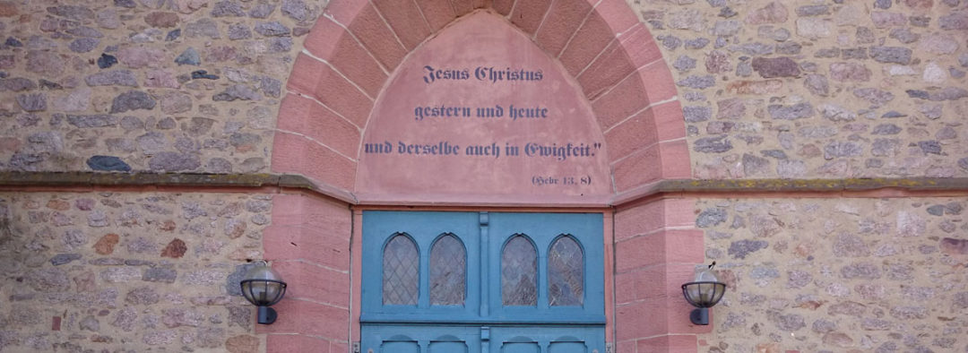 Anfahrt Kirche