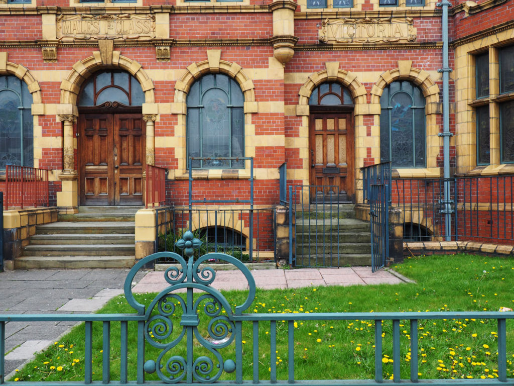 Victoria Baths Entrance