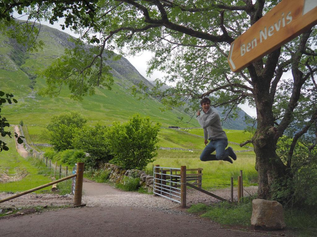 Scotland Road Trip Ben Nevis