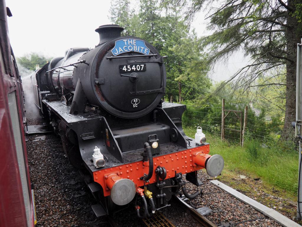 Jacobite Steam Train Scotland Road Trip
