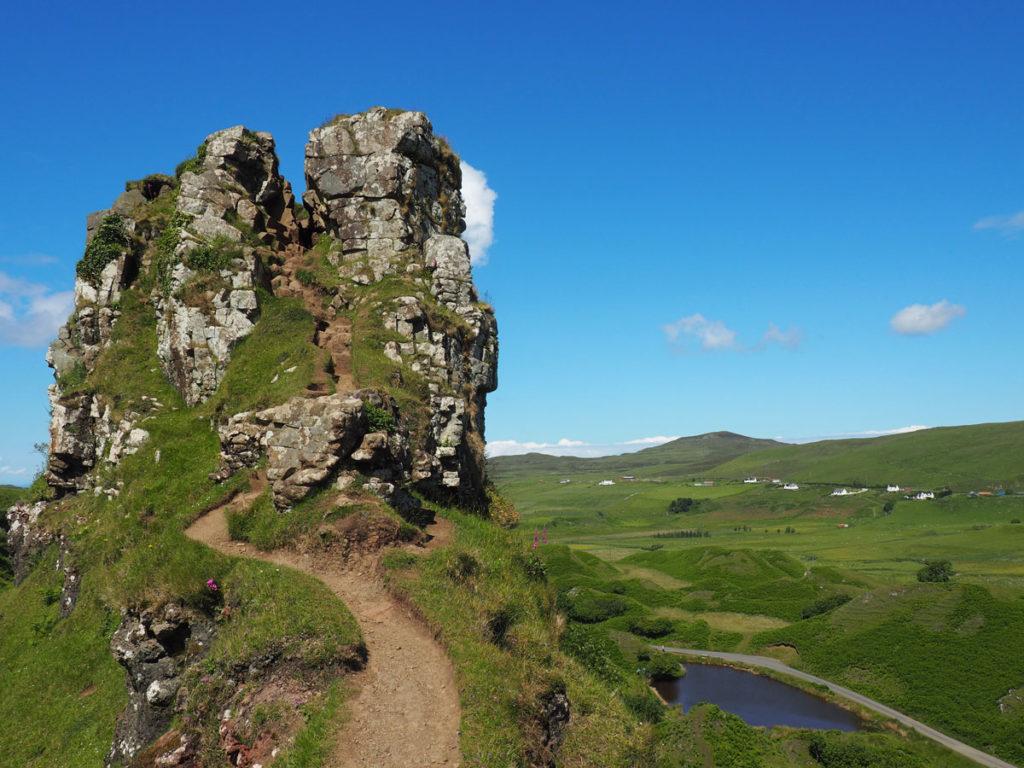Road trip Scotland Isle of Skye Castle Ewen