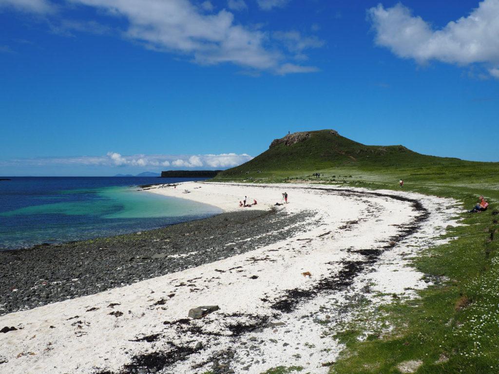 Road trip Scotland Isle of Skye Coral beach
