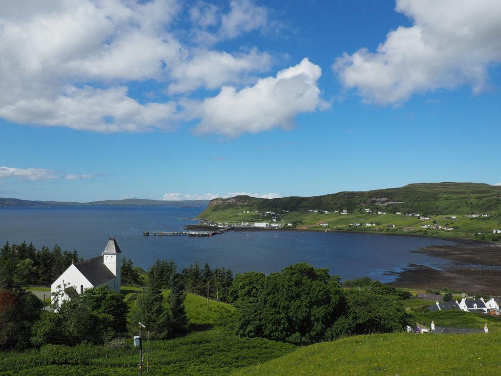 Road trip Scotland Isle of Skye Uig