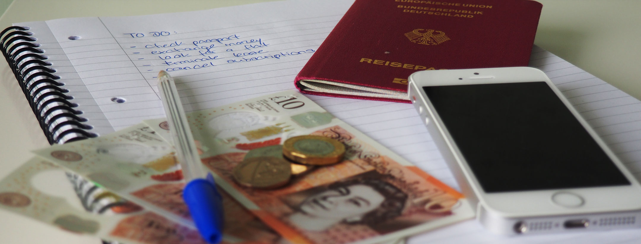 moving to England checklist