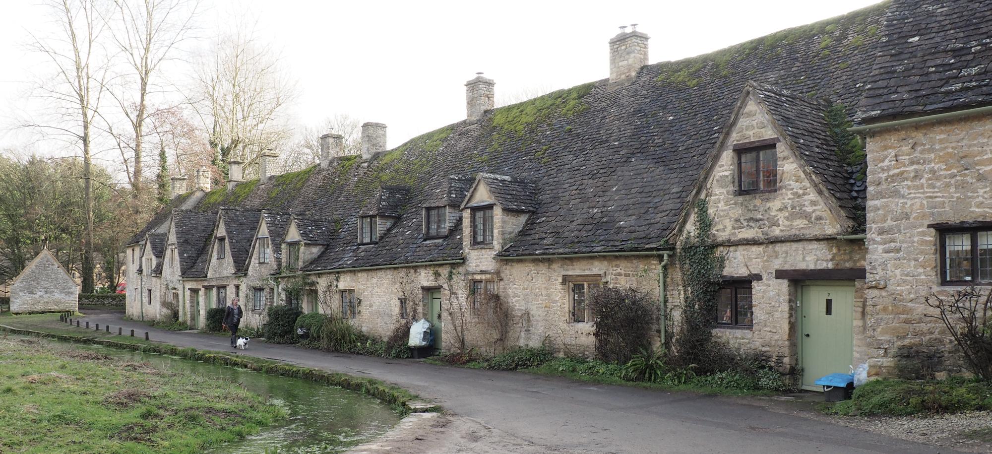 Cotswolds Villages Bibury Arlington Row