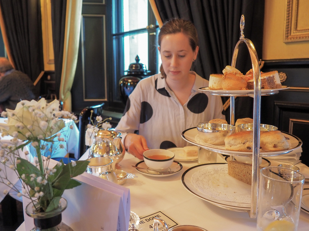 Afternoon Tea The Dome Edinburgh