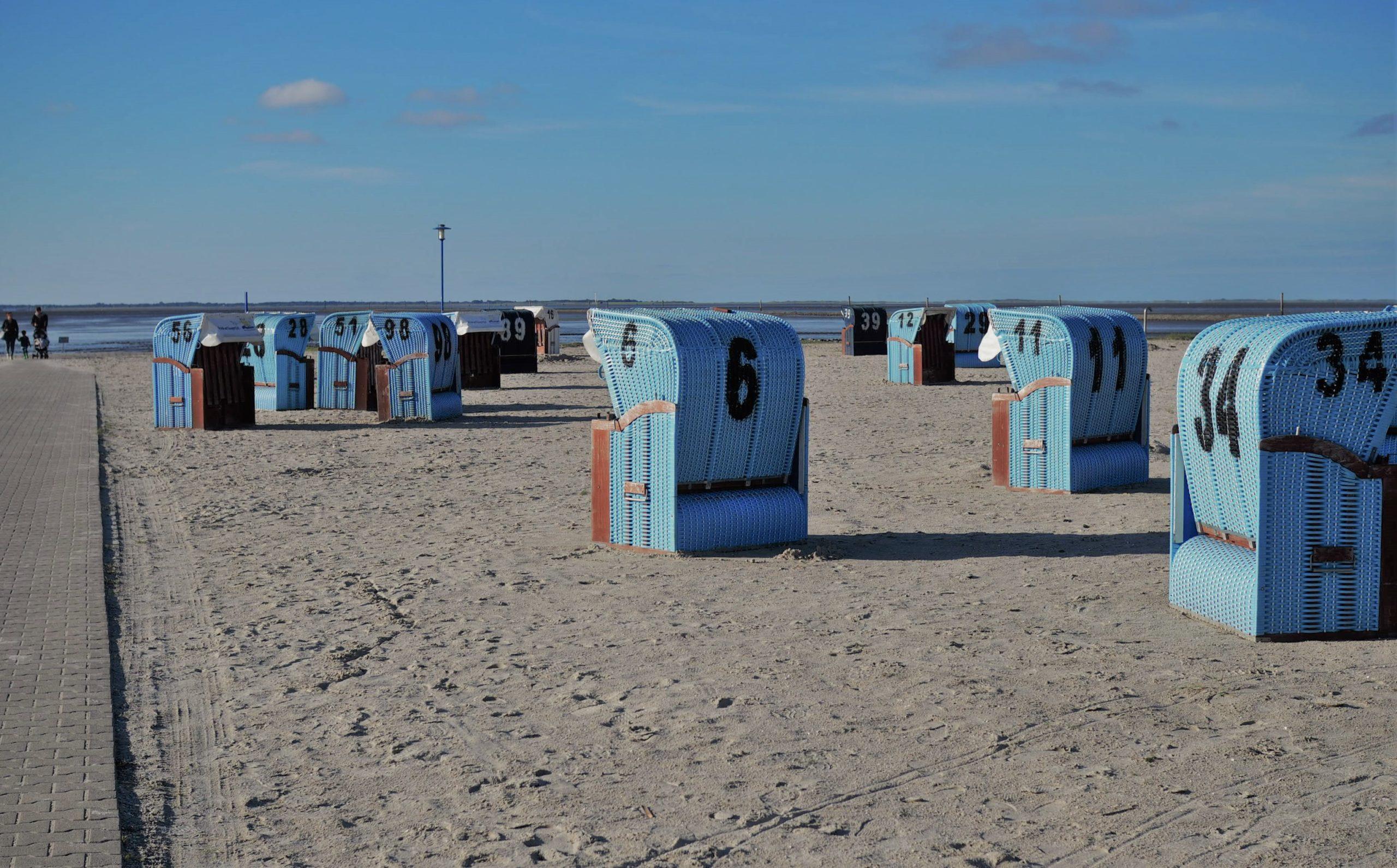 Beach Basket North Sea Germany